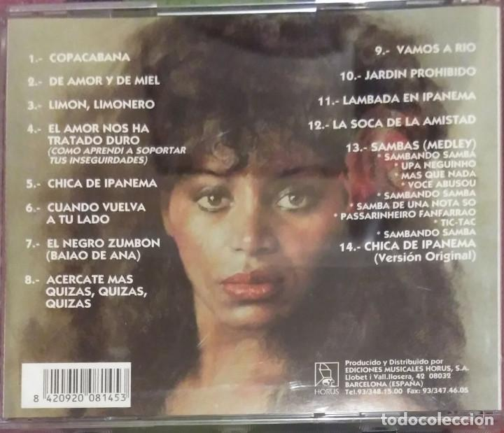 CDs de Música: REGINA DO SANTOS (CHICA DE IPANEMA) CD 1994 EDICION ESPAÑOLA - Foto 2 - 167474004