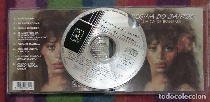 CDs de Música: REGINA DO SANTOS (CHICA DE IPANEMA) CD 1994 EDICION ESPAÑOLA - Foto 3 - 167474004