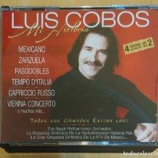 CDs de Música: LUIS COBOS (MI HISTORIA) 4 CD'S 2000. Lote 167476820