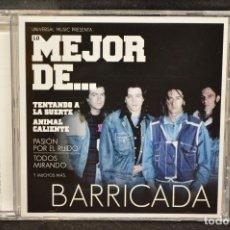 CDs de Música: BARRICADA - LO MEJOR DE... BARRICADA - CD. Lote 167498720