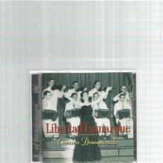CDs de Música: LIBERTAD LAMARQUE CANCION DESESPERADA TANGOS. Lote 167502056