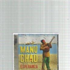 CD de Música: MANU CHAO ESTACION ESPERANZA. Lote 167505224