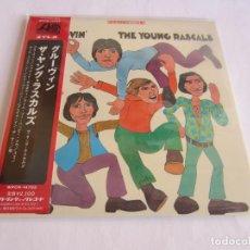 CDs de Música: THE YOUNG RASCALS (THE RASCALS) - GROOVIN' + 11 BONUS TRACKS 1967/2012 JAPAN MINI LP CD WPCR-14703. Lote 167513296