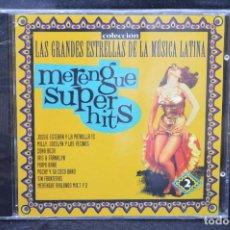 CDs de Música: VARIOUS - VOL 2 MERENGUE SUPER HITS - CD. Lote 167514328