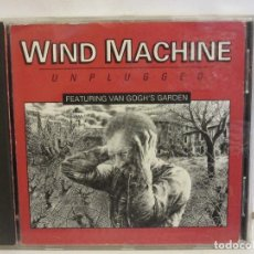 CDs de Música: WIND MACHINE - UNPLUGGED - CD - 1992 - USA - NM+/EX+. Lote 167519064