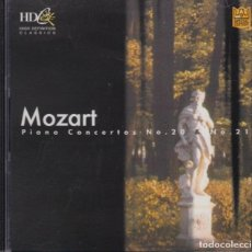 CDs de Música: MOZART. ST. PETERSBURG CHAMBER ORCHESTRA CANON AND FESTIVAL SYMPHONY ORCHESTRA. Lote 167528172