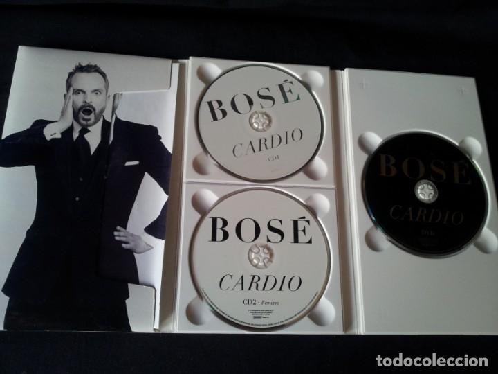 CDs de Música: MIGUEL BOSE - CARDIO - EDICION DELUXE (2 CD Y 1 DVD) - Foto 4 - 167530888