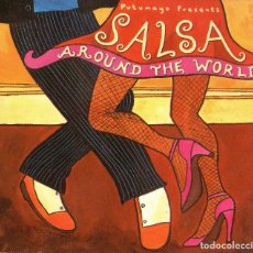 CDs de Música: SALSA, AROUND THE WORLD - CD ALBUM - 12 TRACKS - PUTUMAYO WORLD MUSIC 2003. Lote 167532704