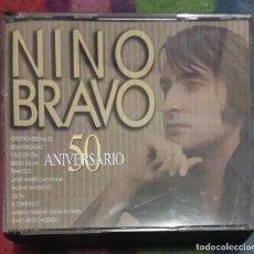 CDs de Música: NINO BRAVO (50 ANIVERSARIO) 2 CD 'S 1995. Lote 167554172
