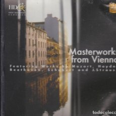 CDs de Música: MASTERWORKS FROM VIENNA. LITHUANIAN CHAMBER ORCHESTRA. TBILISI SYMPHONY ORCHESTRA Y OTRA. Lote 167562372
