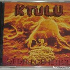 CDs de Música: CD - KTULU - ORDEN GENETICO - 1994 - SPANISH THRASH -THOR-EXODO-CROM-FUCK OFF. Lote 167567004