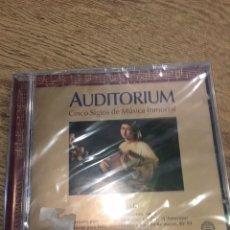 CDs de Música: CD AUDITORIUM - CINCO SIGLOS DE MUSICA INMORTAL- VIVALDI - NUEVO PRECINTADO. Lote 167576280