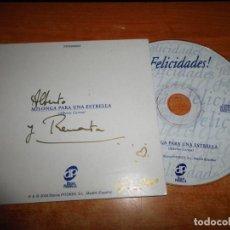 CDs de Música: ALBERTO CORTEZ MILONGA PARA UNA ESTRELLA FIRMADO CD SINGLE PROMO ESPAÑA FELICITACION DISCOS PITOKES. Lote 167595128