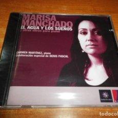 CDs de Música: MARISA MANCHADO EL AGUA Y LOS SUEÑOS CD ALBUM PRECINTADO 2008 CARMEN MARTINEZ DENIS PASCAL. Lote 205671710