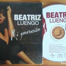 CDs de Música: BEATRIZ LUENGO MI GENERACION ALBUM VERSION+RADIO EDIT CD SINGLE UNIVERSAL 2004. Lote 167598724