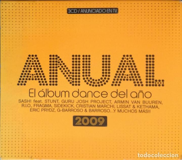 CD ANUAL. EL ALBUM DANCE DEL AÑO, 2009; TRIPLE CD (Música - CD's Disco y Dance)