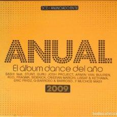 CDs de Música: CD ANUAL. EL ALBUM DANCE DEL AÑO, 2009; TRIPLE CD. Lote 167598896