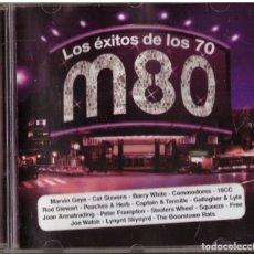 CDs de Música: CD LOS MEJORES EXITOS DE LOS 70. M80 RADIO. Lote 167599956