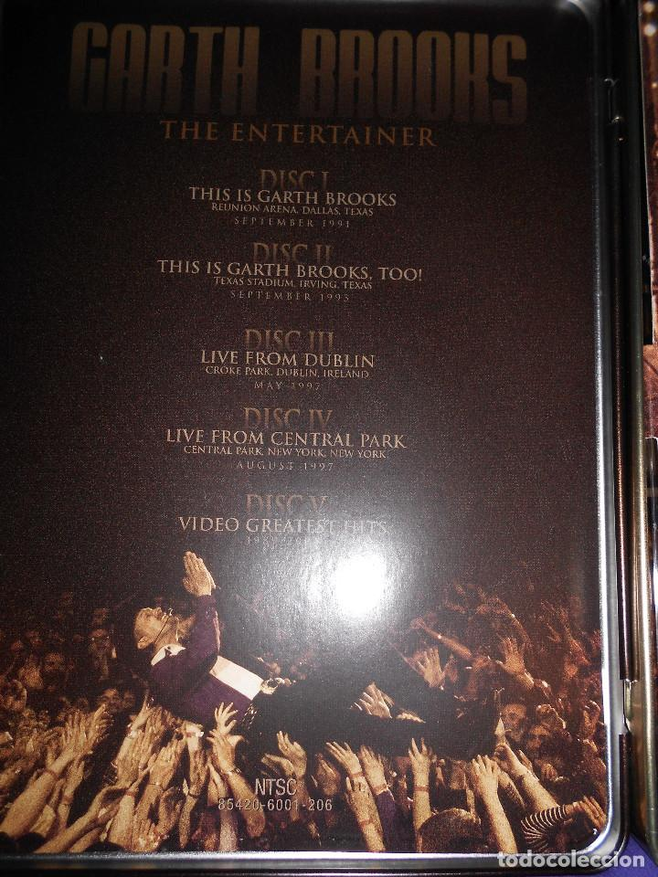 CDs de Música: coleccion 5 discos estuche metalico- garth brooks - the entertainer - Foto 2 - 167618312