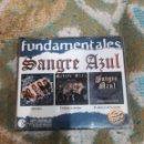 CDs de Música: SANGRE AZUL FUNDAMENTALES 3 CD OBSESIÓN, CUERPO A CUERPO, EL SILENCIO DE LA NOCHE. Lote 167627952
