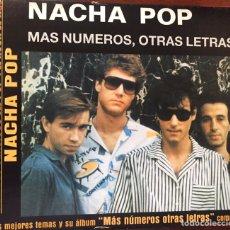 CDs de Música: NACHA POP. MAS NUMEROS, OTRAS LETRAS+4EXTRAS. Lote 167628452