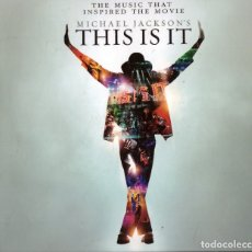 CDs de Música: CD MICHAEL JACKSON: THIS IS IT; DOBLE CD. Lote 167634032