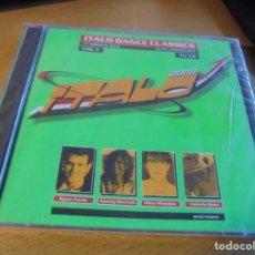 CDs de Música: RAR 2 CD'S. ITALO DANCE CLASSICS. VOL. 1 37 TRACKS. SEALED. PRECINTADO. Lote 167641244
