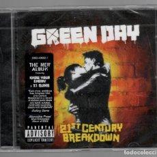 CDs de Música: GREEN DAY - 21ST CENTURY BREAKDOWN - (NUEVO). Lote 167659048
