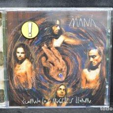 CDs de Musique: MANÁ - CUANDO LOS ÁNGELES LLORAN - CD. Lote 167661332