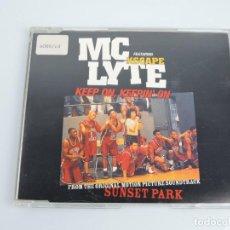 CDs de Música: MC LYTE FEATURING XSCAPE – KEEP ON, KEEPIN' ON MAXI SINGLE CD. Lote 167662996