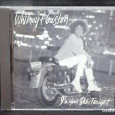 CD di Musica: WHITNEY HOUSTON - I´M YOUR BABY TONIGHT - CD. Lote 167668128