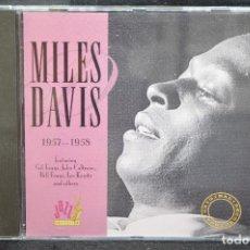 CDs de Música: MILES DAVIS - MILES DAVIS 1957 / 1958 - CD. Lote 167671372