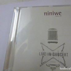 CDs de Música: NINIWE -LIVE IN CONCERT -CD -N. Lote 167673452