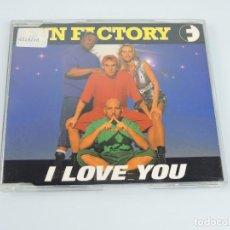 CDs de Música: FUN FACTORY – I LOVE YOU SINGLE CD. Lote 167674424