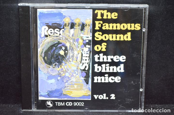 VARIOUS- THE FAMOUS SOUND OF THREE BLIND MICE (VOL.2) - CD (Música - CD's Jazz, Blues, Soul y Gospel)