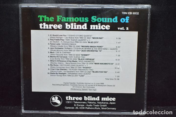 CDs de Música: VARIOUS- THE FAMOUS SOUND OF THREE BLIND MICE (VOL.2) - CD - Foto 2 - 167680496