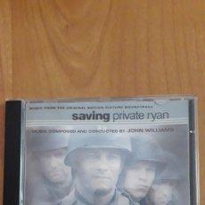 CDs de Música: BSO SALVAR AL SOLDADO RYAN. SAVING PRIVATE RYAN. Lote 167726402