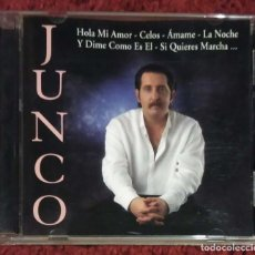 CDs de Música: JUNCO (HOLA MI AMOR, CELOS, AMAME....) CD 1999 HORUS. Lote 167757205