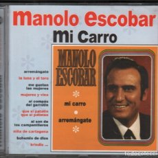 CDs de Música: MANOLO ESCOBAR - MI CARRO / CD DIVUCSA DE 2005 RF-2144 , PERFECTO ESTADO. Lote 167769912
