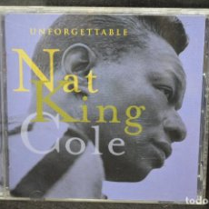 CDs de Música: NAT KING COLE - UNFORGETTABLE - CD. Lote 167783472