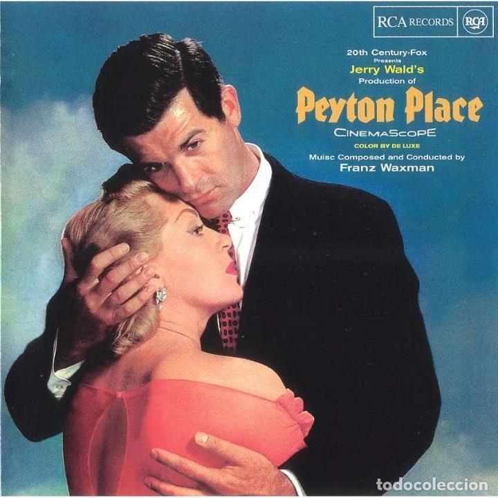 FRANZ WAXMAN - PEYTON PLACE - CD BSO (Música - CD's Bandas Sonoras)
