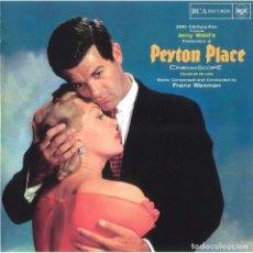 CDs de Música: FRANZ WAXMAN - PEYTON PLACE - CD BSO. Lote 167788556