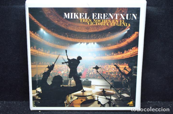 MIKEL ERENTXUN - TRES NOCHES EN EL VICTORIA EUGENIA - 2 CD + DVD (Música - CD's Rock)
