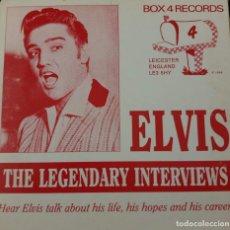CDs de Música: ELVIS THE LEGENDARY INTEVIEWS - CD. Lote 167505140