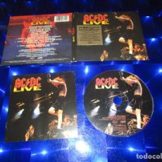 CDs de Música: AC/DC ( LIVE ) - CD - DIGIPACK - EPC 510772 2 - EPIC - T.N.T. - BACK IN BLACK - MONEYTALKS .... Lote 167811280