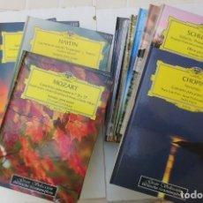 CDs de Música: GRAN SELECCION DEUTSCHE GRAMMOPHON - 20 LIBROS + 2 CDS POR LIBRO - NÚMEROS DEL 1 AL 20. Lote 167830532