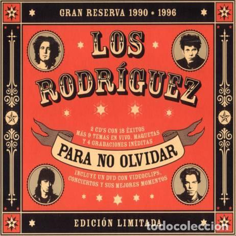 LOS RODRÍGUEZ - PARA NO OLVIDAR DIGIPACK 2 CD + DVD (Música - CD's Rock)