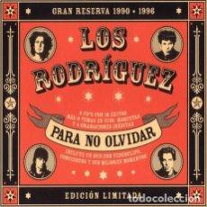 CDs de Música: LOS RODRÍGUEZ - PARA NO OLVIDAR DIGIPACK 2 CD + DVD. Lote 167858324