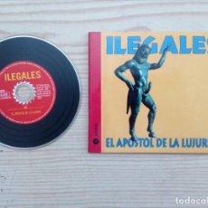 CDs de Música: ILEGALES - EL APOSTOL DE LA LUJURIA CD. Lote 167884028