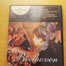 CDs de Música: LO MEJOR DE LUDWIG VAN BEETHOVEN (2 CD). Lote 167885948
